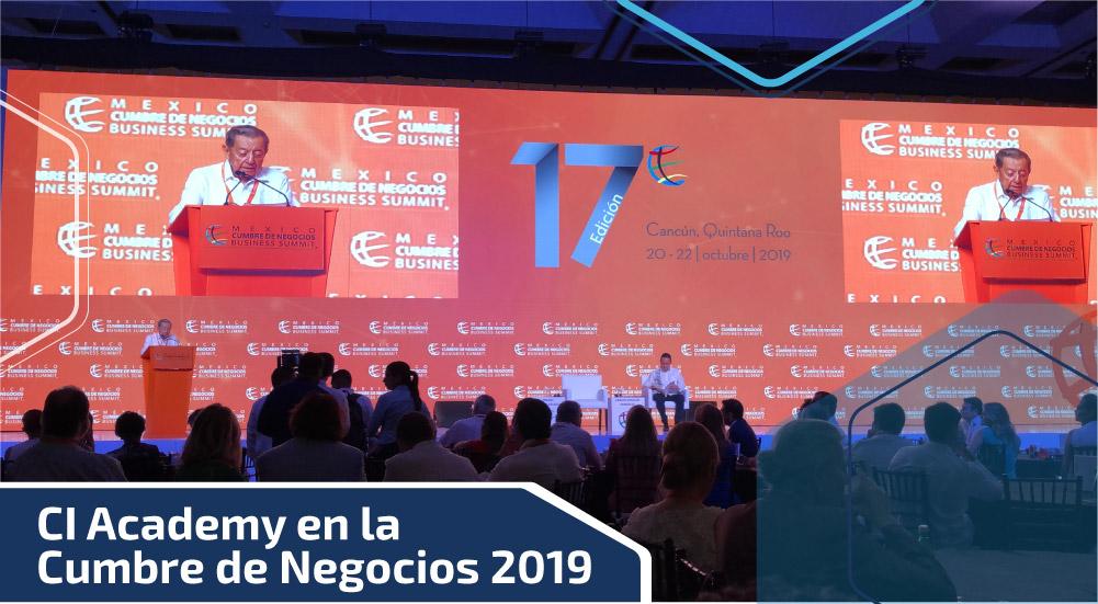 CI Academy en la Cumbre de Negocios 2019