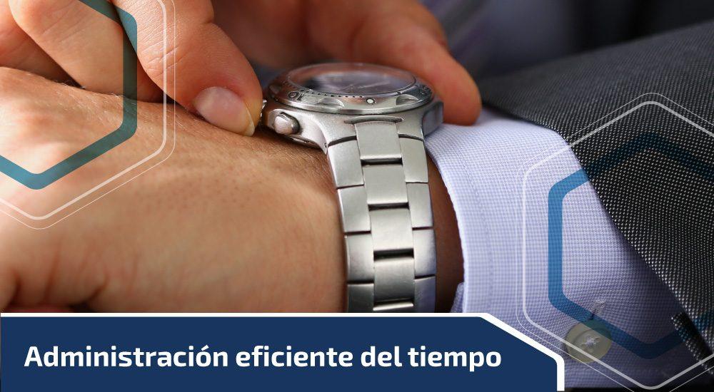 Administración eficiente del tiempo