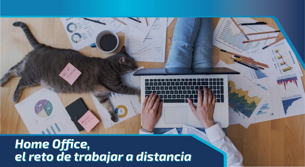 Home Office, el reto de trabajar a distancia